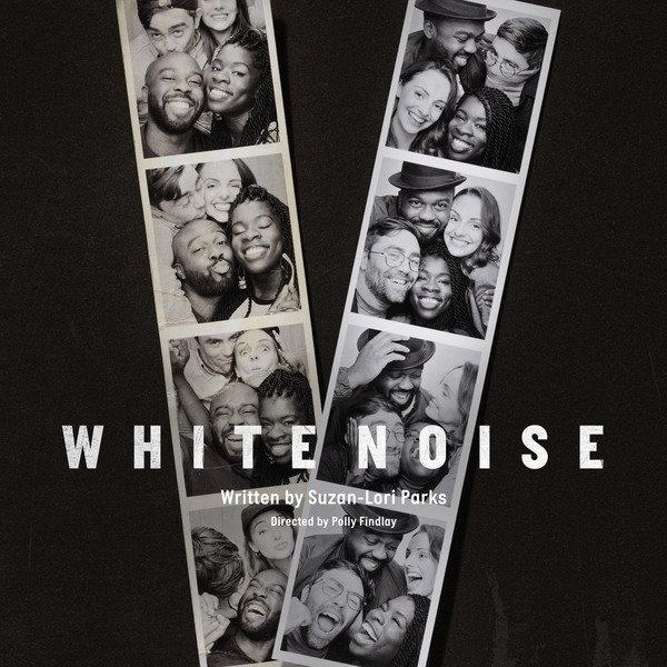 Display white noise square no logo